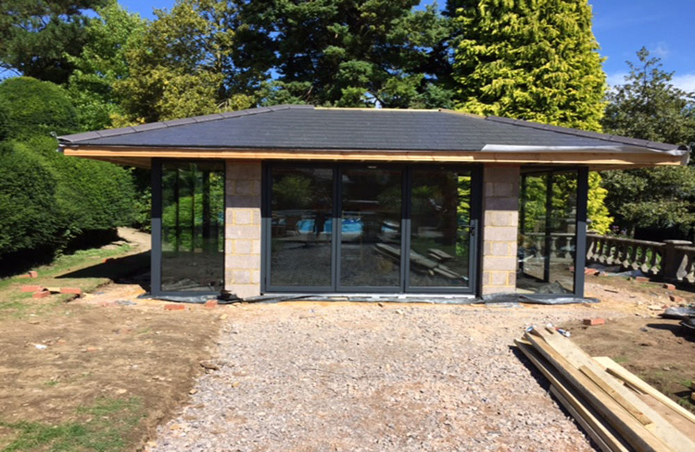 Linc Garden Rooms : Landscaping : Ongoing Landscaping Works